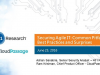 Securing Agile IT: Common Pitfalls, Best Practices and Surprises