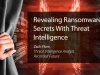 Revealing Ransomware Secrets With Threat Intelligence