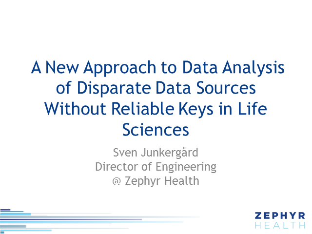 How to Approach Data Analysis of Disparate Data Sources