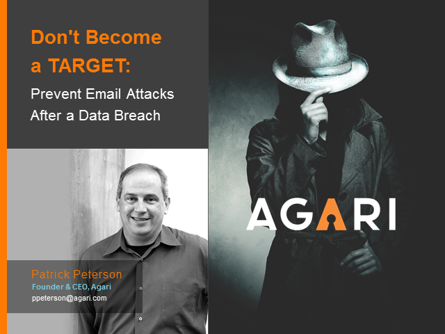 Don't Become a TARGET: Prevent Email Attacks After a Data Breach
