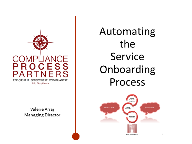 "Automating the ""Service On-boarding""  Process"