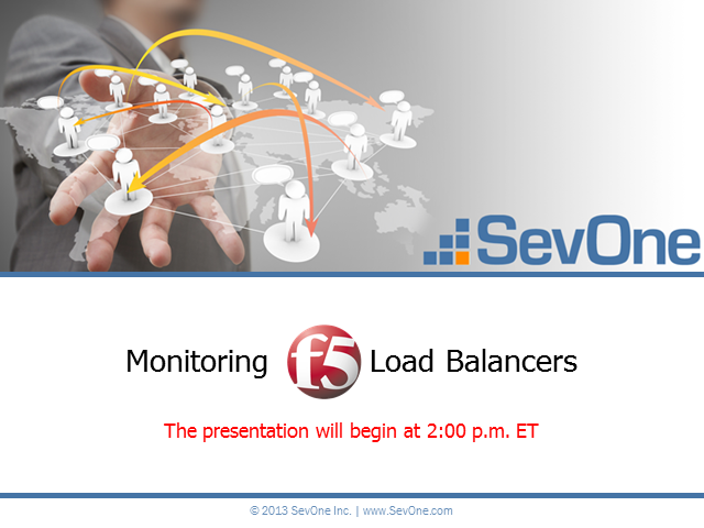 Monitoring F5 Load Balancers