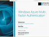 Windows Azure Multi-Factor Authentication
