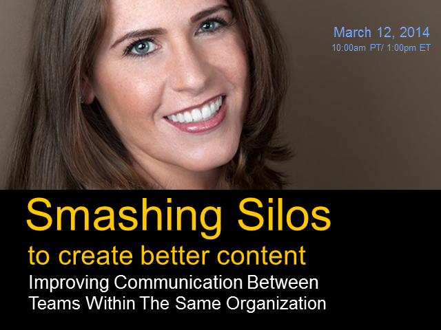 Smashing Silos: Improving Communication Between Teams in the Same Organization