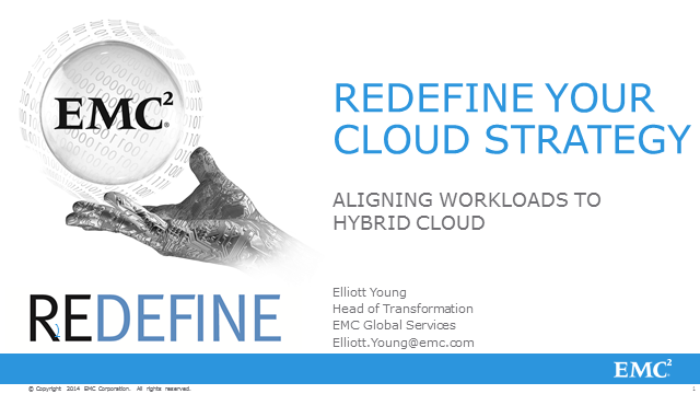 Redefine Your Cloud Strategy: Aligning Workloads to Hybrid Cloud