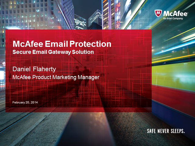 Sales Essentials:  Selling Email Protection