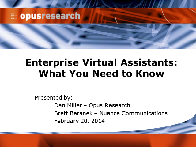 Evaluating Enterprise Virtual Assistant Options