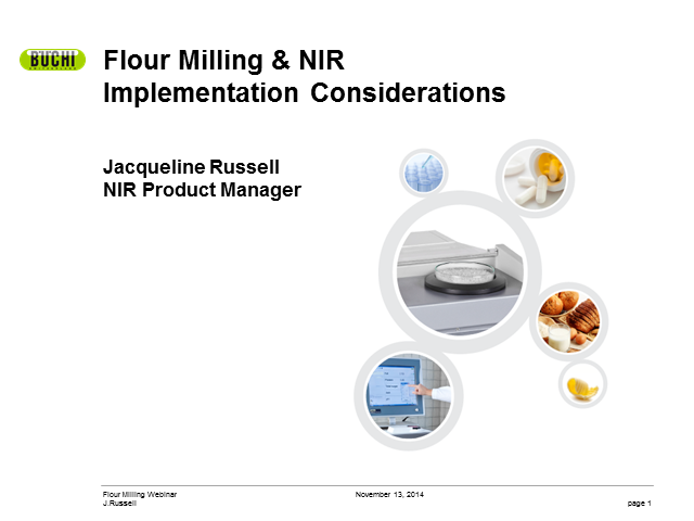Implementation of NIR technology in flour milling