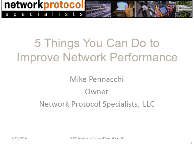 5 Things You Can Do to Improve Network Performance