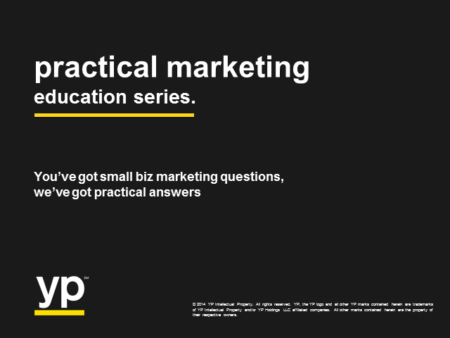 Practical Answers to Your Practical Marketing Questions