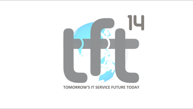 Tomorrow's IT Service Future Today: TFT14 Winter