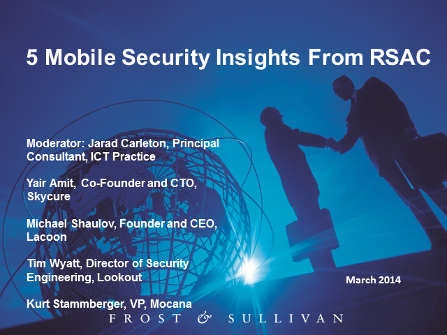 5 Mobile Security Insights from RSAC