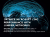 Optimize Microsoft Lync Performance with Juniper Networks & Netrix LLC