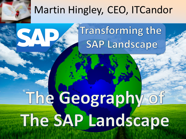 The Geography of the SAP Landscape
