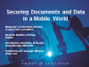 Panel: Securing Documents and Data In A Mobile World