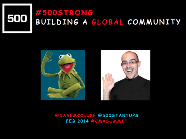 Building the 500 Startups Community on a Global Scale