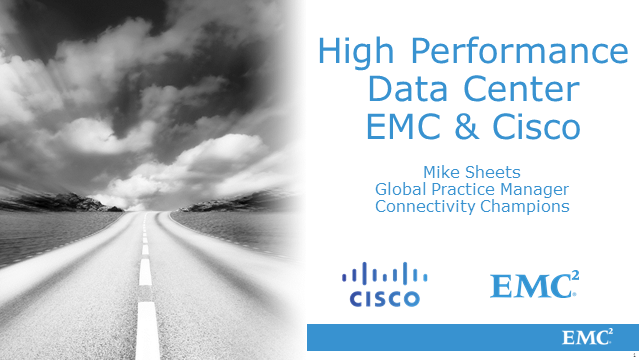 High Performance Data Center Design with MDS 9710