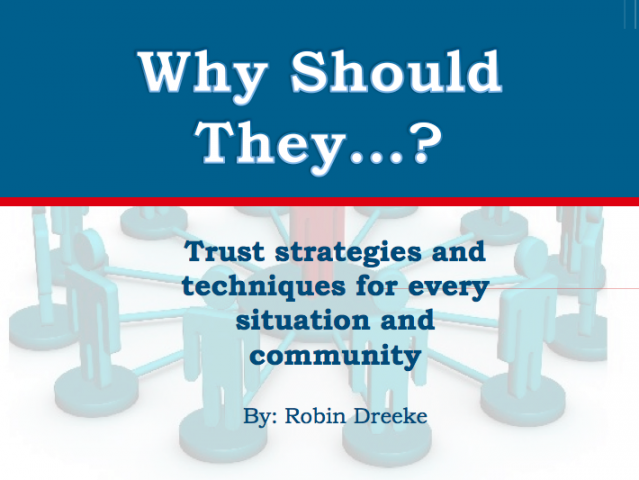 Why Should They? Trust Strategies for Every Situation