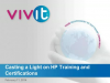 Casting a Light on HP Training and Certifications