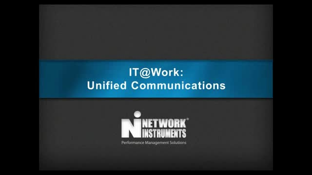 IT@Work Webinars: Unified Communications