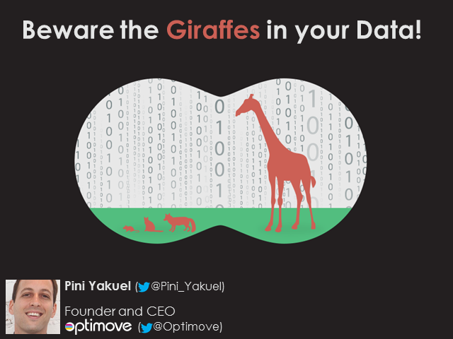 Beware the Giraffes in your Data!