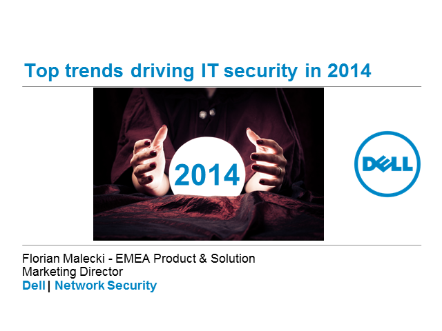 2014 Top IT Security Trends