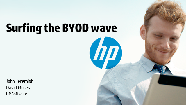 Surfing the BYOD wave