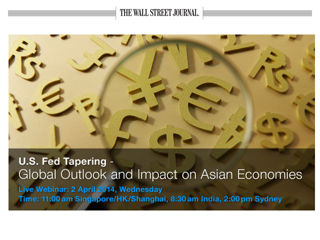 U.S. Fed Tapering – Global outlook and Impact on Asian Economies