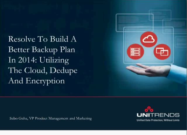 Utilizing The Cloud, Deduplication, and Encryption
