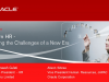 Modern HR - Meeting the Challenges of a New Era