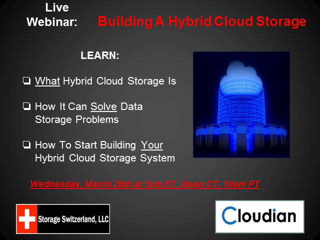 Building A Hybrid Cloud Storage Solution
