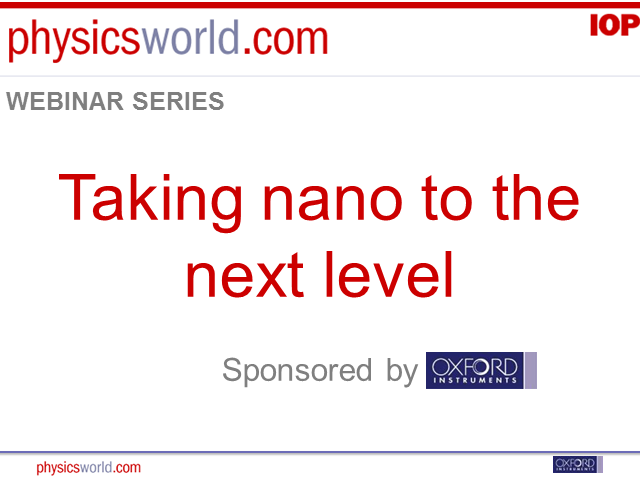 Taking nano to the next level