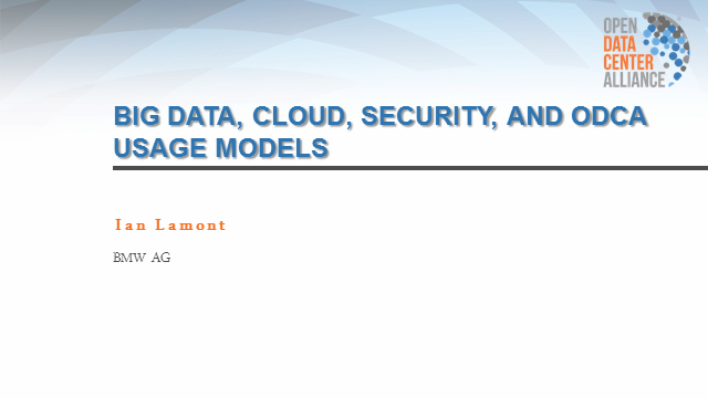 The Security of Big Data: An Enterprise Perspective