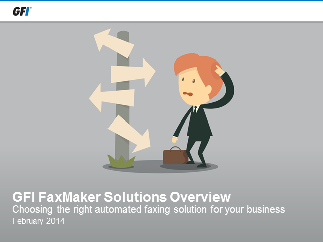 Choosing the right faxing solution for your business
