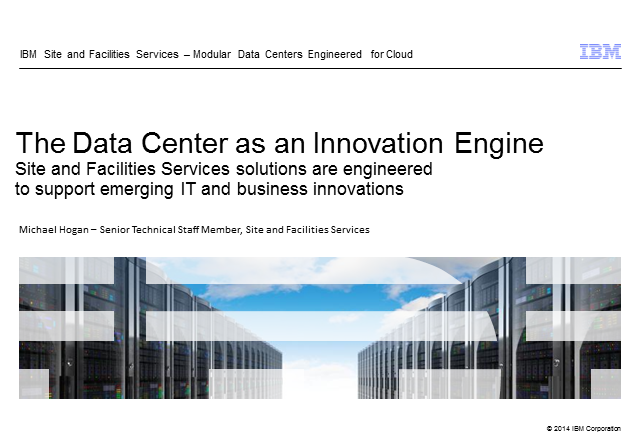 How building a scalable modular data center can help fund business growth