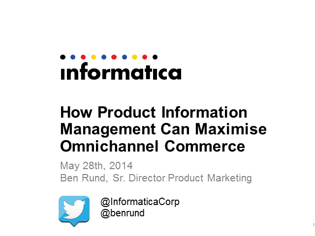 How Product Information Management Can Maximize Omnichannel Commerce