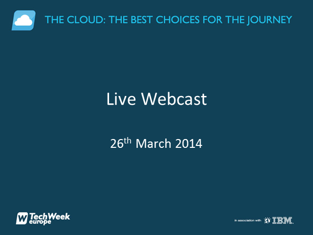 The Cloud - Choice for the journey