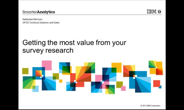 Gain more value from your survey data