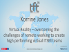 Virtual Reality – Overcoming the Challenges of Remote Working