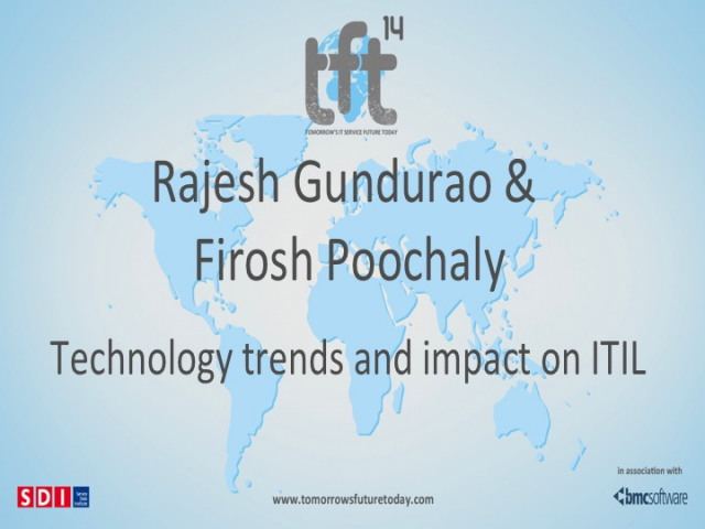 Technology Trends and Impact on ITIL