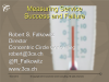 Measuring Service Success and Failure