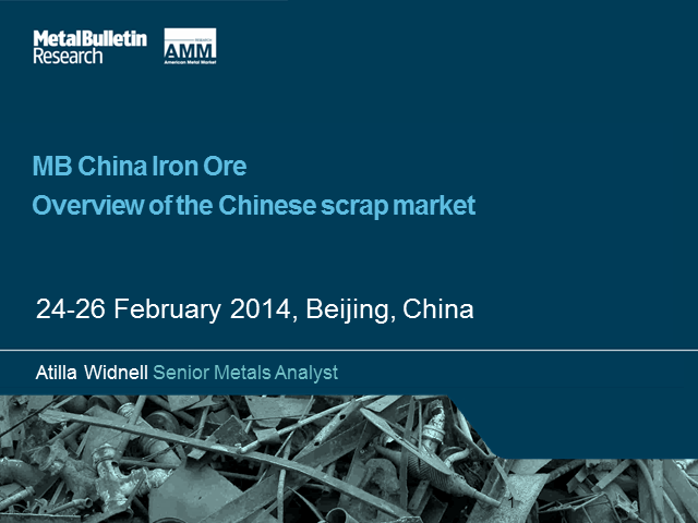 An Outlook for the Chinese Scrap Market