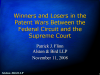 Winners and Losers in the Patent War Between the Federal Circuit