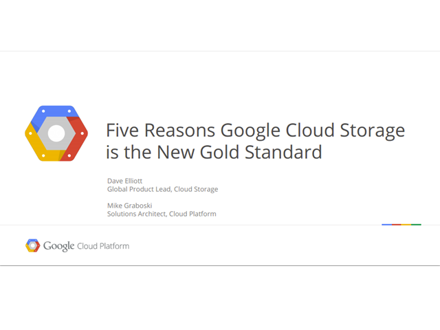 5 Reasons Why Google Cloud Storage is the New Gold Standard
