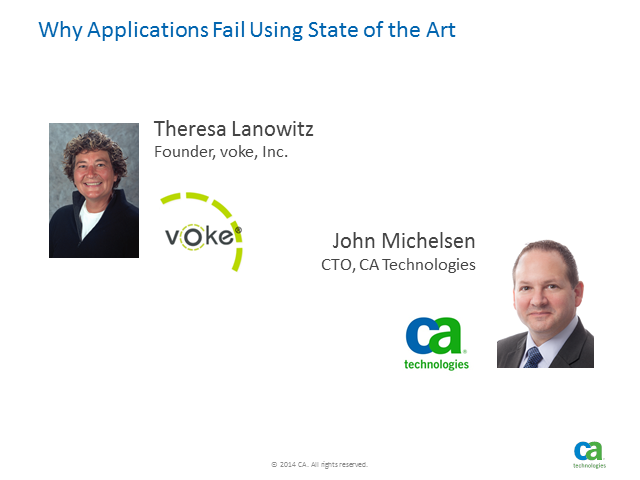 Why Applications Fail Using State of the Art