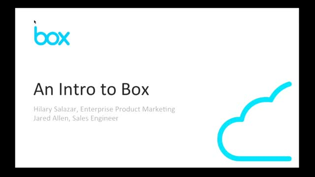 Intro to Box