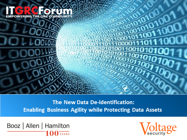 The New Data De-identification: Enabling Business Agility while Protecting Data