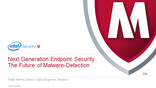 Next generation endpoint security