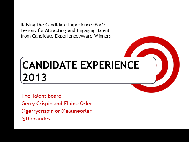 Raising the Candidate Experience 'Bar'