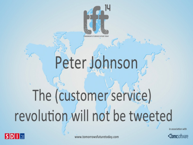 The (Customer Service) Revolution Will Not be Tweeted